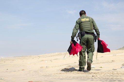 Border Patrol, Flags, Patrol, Border, Security