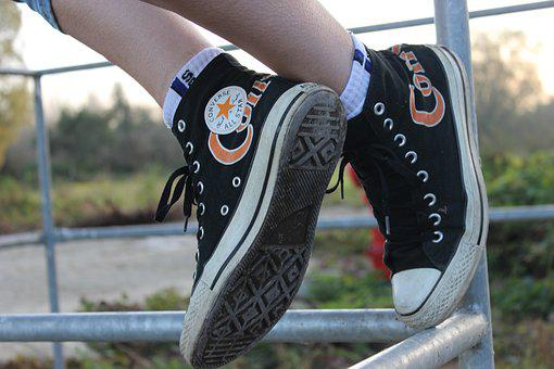 Converse, Sneakers, Converse Shoes, Conversky, Foot