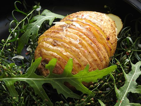 Fan Potatoes, Potatoes, Hasselback Potatoes