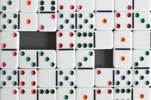 Domino, Background, Texture, Game, Game Of Table, Fun