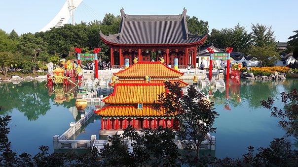 Garden, Leisure Park, Asian Culture