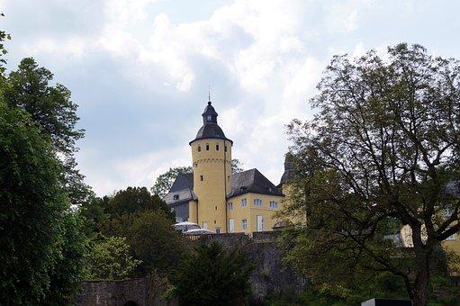 Nümbrecht, Castle Homburg, Germany, Homburg, Castle