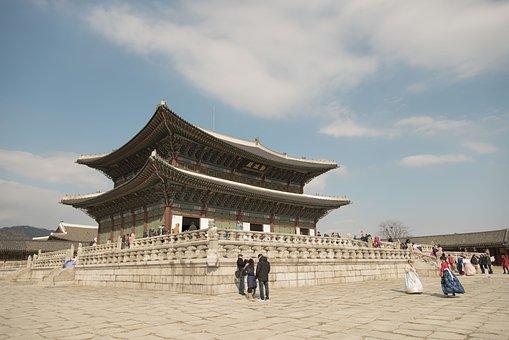 Republic Of Korea, Seoul, Gyeongbok Palace, Palace