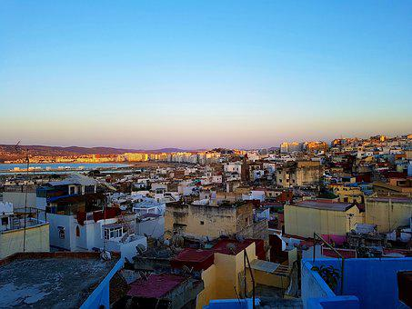 Tangier, Morocco, Medina, Kasbah, View, Travel, City