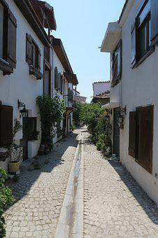 Alley, Old, Building, Old Town, Homes, Architecture