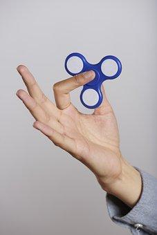Fidget Spinner, Fidget, Spinner, Stress, Roller, Toy