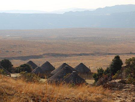 Travel, Clarens Sa, Bantu, Ethnic, Village, Countryside
