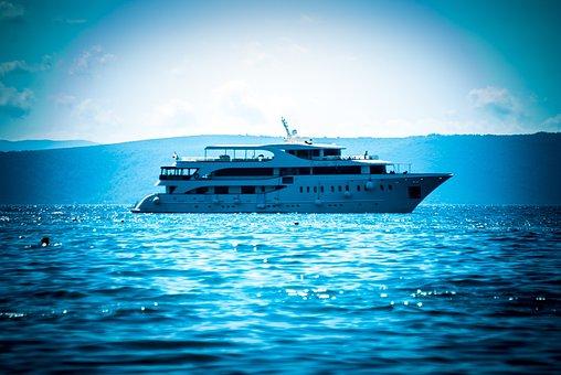 Ship, Sea, Adriatic, Croatia, Cruises, Boat