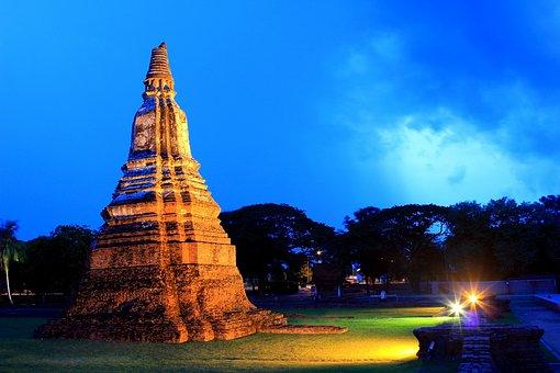 Temple, Thailand, Thai, Asia, Travel, Bangkok