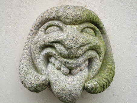 Devil, Stone, Figure, Stone Sculpture, Cairn, Head