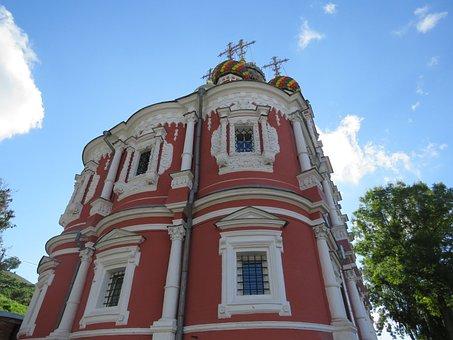 Nizhniy Novgorod, Church, Christmas, Temple, Building