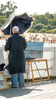 Painter, Artist, Painting, «artist Painter, Create