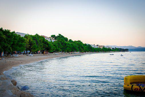Beach, Croatia, Sea, Holidays, Water, Tourism, Summer