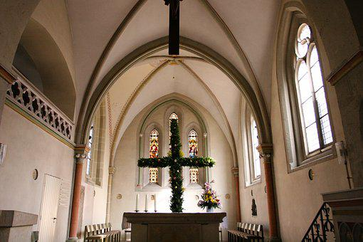 Church, Cross, Christian, Religion, Symbol