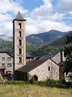 Santa Eulàlia, Erill La Vall, Romanesque Church