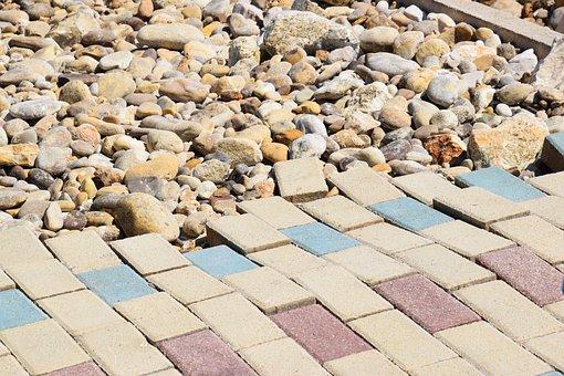 Floor, Broken, Stones, Sidewalk