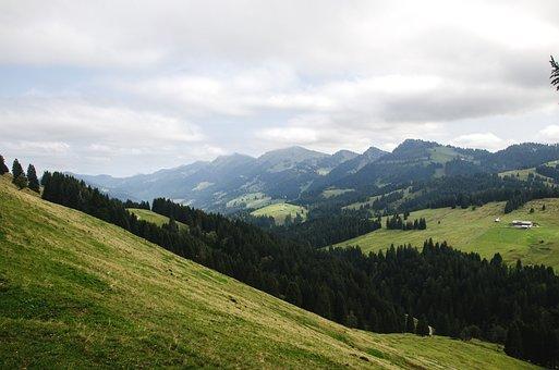 Nagelfluhkette, Mountains, Hiking, High Ridge, Allgäu