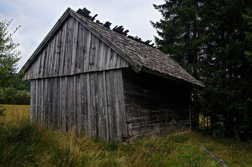 Hut, Home, Wood, Scale, Nature, Barn, Vacation