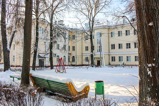 Yard, City, Old Town, Obninsk, The Urban Landscape