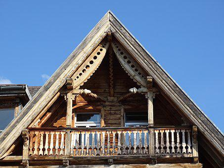 Home, Roof, Building, Architecture, Wood, Old Building