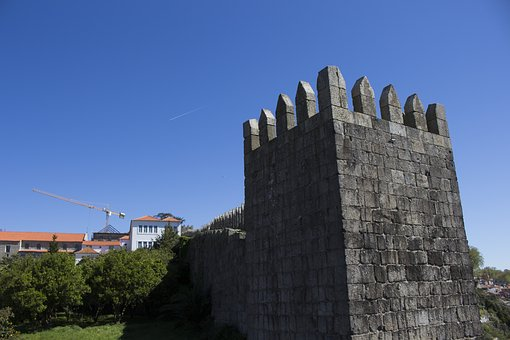 Castle, Wall, Architecture, Old, Fortress, Historic