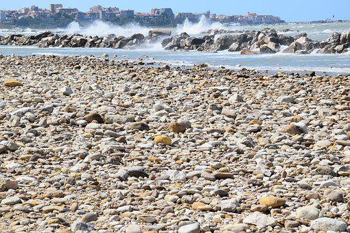 Beach, Sea, Onda, Summer, Beaches, Pebbles, Stones