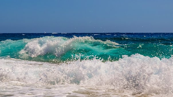 Wave, Water, Liquid, Spray, Foam, Sea, Nature, Wind