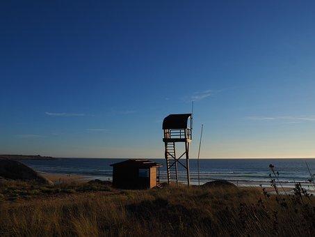 Surveillance, Beach, Security, Galicia, Life Guard