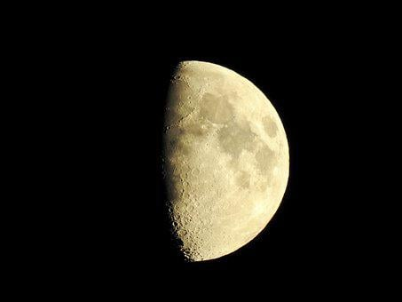 Moon, Crescent, Night, Sky, Night Sky, Light, Sickle
