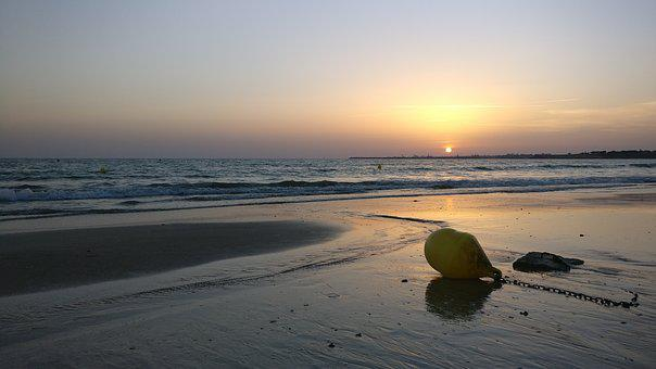 Beach, Sunset, Andalusia, Spain, Sun, Shore, Landscape