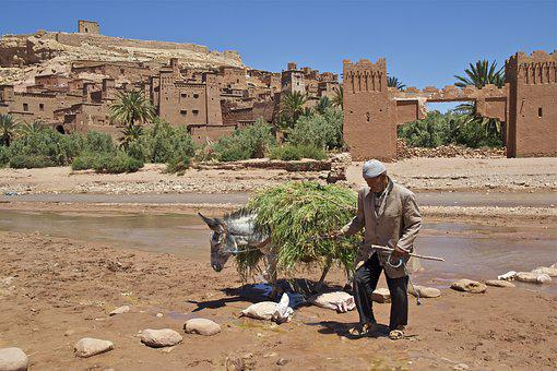 Morocco, La Kasbah, Kasbah, Urban, Film City, Tourism