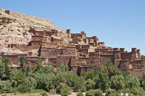 Morocco, La Kasbah, Kasbah, Urban, Film City, Tourism