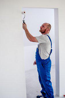 Painter, Painting, Employee, Building, Worker