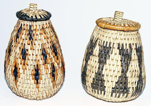 Calabash, Container, Woven, Box, Deco, Decoration