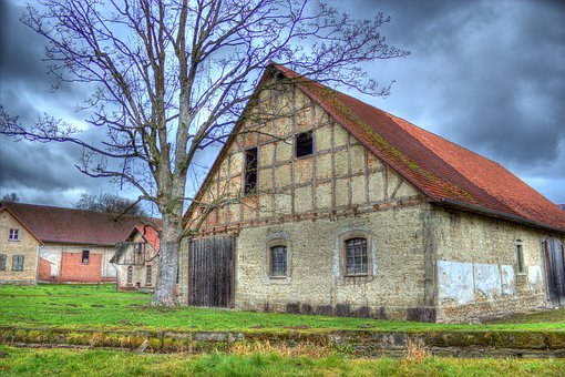 Barn, Store, Agriculture, Scale, Scheuer, Agricultural