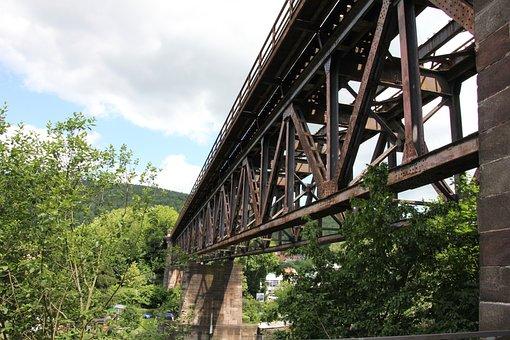 Bridge, Railway, Railway Bridge, Seemed, Architecture