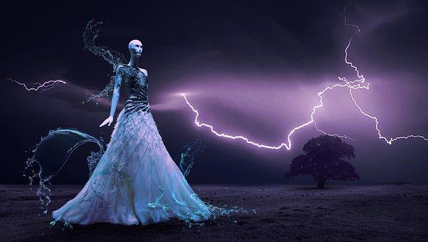 Fantasy, Flash, Mystical, Atmosphere, Sky, Lighting