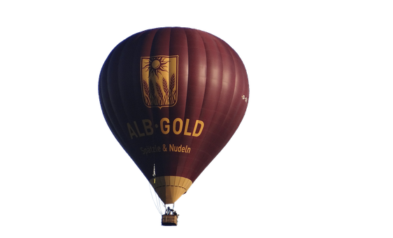 Hot Air Balloon, Isolated, Balloon, Aircraft, Float