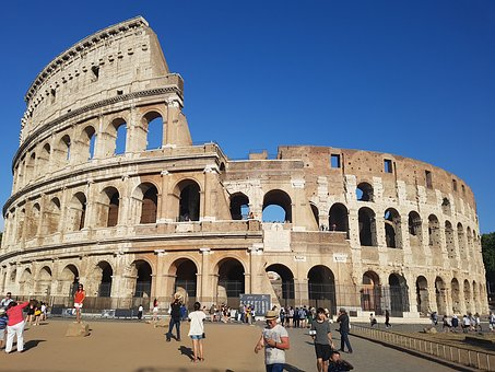 Colosseum, Italy, The Ruins Of The, Rome