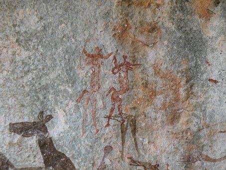 Rock Art, Bushman, Africa, Ancient, Culture, Stone