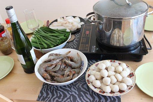 Hot Pot, Asian, Cooking, Cuisine, Dinner, Healthy
