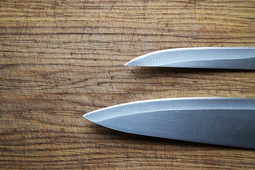 Kitchen Knife, Knives, Menu Design, Cutting Board