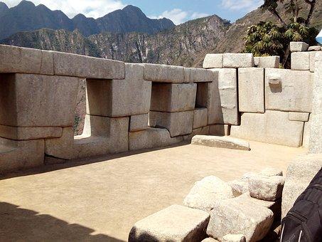 Peru, Inca, Machu Picchu, Mountain, Archeology, Andes