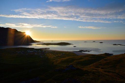 Outlook, Norway, Nordland, Lofoten, Scandinavia