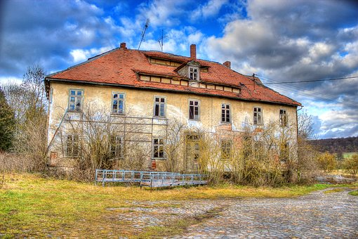 Ruin, Leave, Old, Building, Break Up, Dilapidated