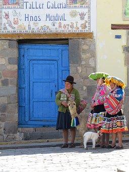 Peru, Animals, Costume, Peruvian