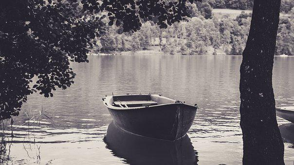 Rowing Boat, Ilmen Lake, Lake, Swim, Go Boating