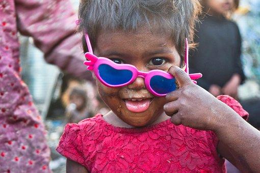 Poor, Girl, Slums, Young, Kid, Child, Sad, Poverty