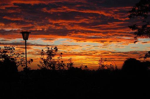 Sunset, Scenery, Landscape, Sky, Outdoor, Scenic, Dusk
