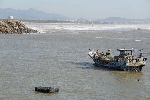 Boat, Ocean, Sea, Ship, Water, Travel, Marine, Cruise